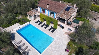 Photo for Villa large pool panoramic view near Cannes