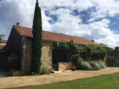 Photo for beautifully restored barn with private swimming pool (pet-friendly)