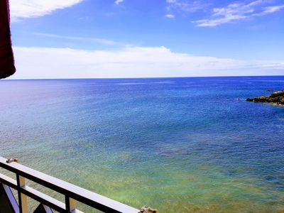 Photo for FRONT LINE SEA & SUNSET VIEW APARTMENT