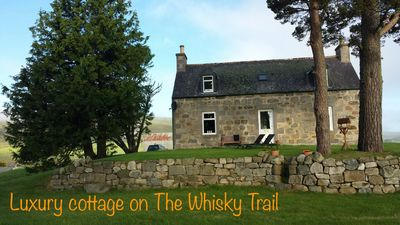 Luxury Highland Cottage set in 2 private acres on the Ballindalloch Estate
