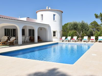 Photo for CHARMING VILLA 6 People SWIMMING POOL VIEW OCEAN ALGARVE