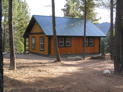 New cabins built in 2016. Your home away from home!
