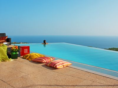 Photo for Super - last minute autumn, villa with breathtaking sea view, pure relaxation