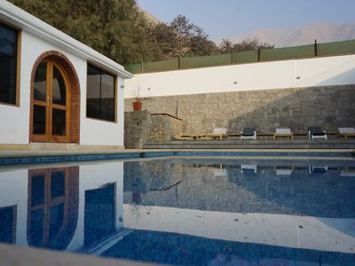 Photo for Villa Andina, your Ideal Home Office and only an hour from Lima