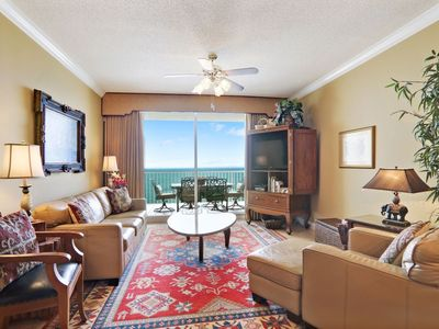 Photo for Avalon Penthouse 2004 - Luxury Condo  20th floor K/Q/Twns Direct Gulf View, WIFI