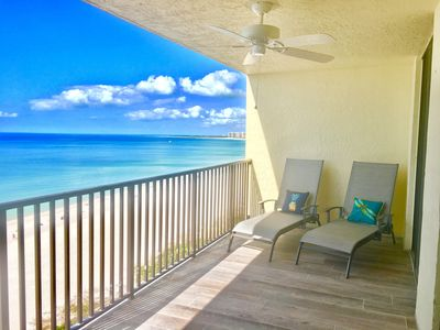 Photo for ☀️Sea Winds #1002 🐠UPSCALE REMODELED ⛱ Beachfront Ocean View 2 B/2 B 🦀