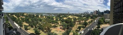 Photo for 3 Bedrooms Apartment with spectacular 180 degree park view