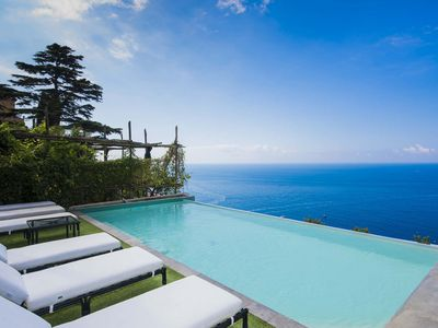 Photo for Villa Tassia located in Positano, with 6 bedroom, pool, 12 sleeps