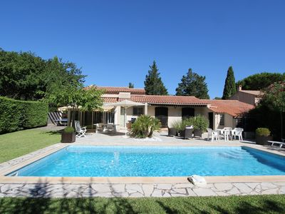 Photo for Charming villa with swimming pool in Bormes les Mimosas 5 minutes from the beach