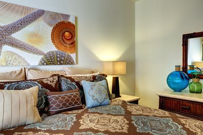 Beautiful Designer Bedding that makes your king suite special!