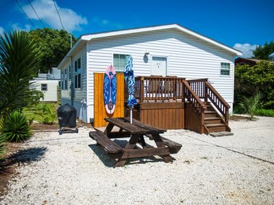 Photo for Dolphin Beach Home...Big Porch! 3 Miles to Pier Park! Perfect Family Getaway!