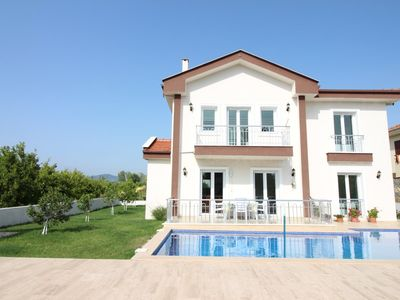 Photo for Dalyan 4 Bedroom Villa Nurhan. Detached villa with private pool and garden in a quiet location