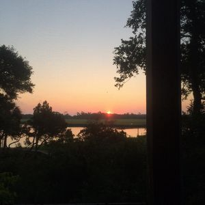 Lovely sunrise view from the screened porch....start the day off right!