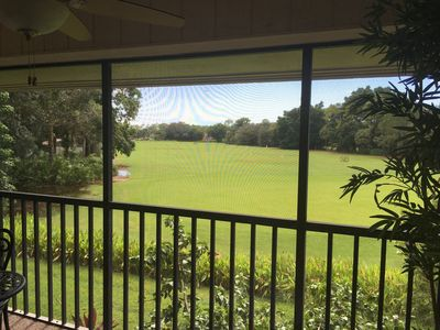 Photo for Turn-Key furnished, condo overlooking the driving range in Golf Course Community