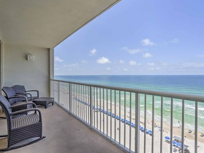 Photo for Oceanfront Panama City Beach Resort Condo w/Pool!