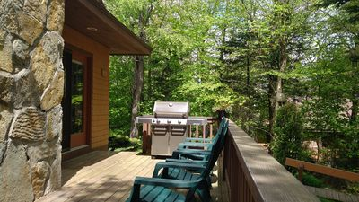 Photo for Perfect spot for all seasons, golf, hike, fish, ski...relax! WIFI, SHUTTLE incl.