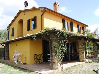 Photo for 6 bedroom Villa, sleeps 12 in Poschini with Pool, Air Con and WiFi