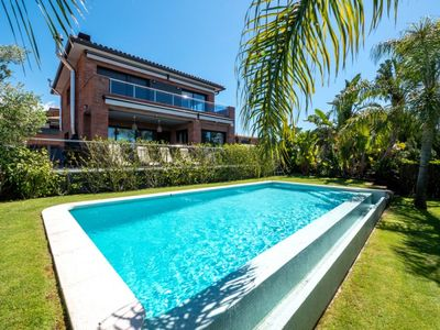Photo for Club Villamar - Modern fabulous villa with large swimming pool, ping pong table in the famous the...