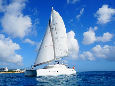Photo for All-Inclusive 52 Ft Luxury Crewed Catamaran - 5 Star Chef - sail the Bahamas!