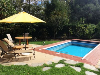 Photo for Montecito Oasis! Luxury Home with Pool & Hot Tub, Minutes From Beach & Trails