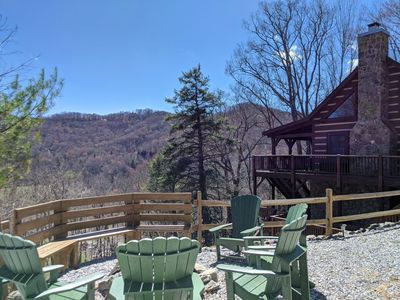 Photo for GUEST FAVORITE Private Cabin Min to Downtown*Hot Tub*Pool Table*Firepit