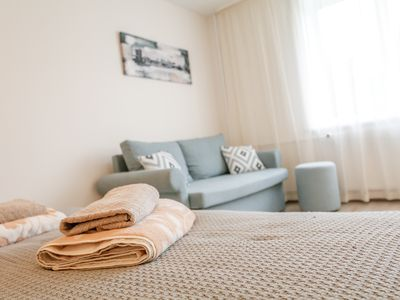 Photo for Apartment for YOU.Cozy apartment is located in heart of center of Sigulda.