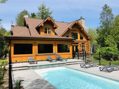 Chalet Silver Fox at Fiddler Lake, Spa & private swimming pool