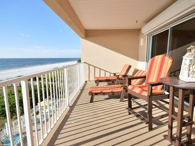 Photo for Beach Front!! Top Floor Corner Unit at Ocean Way