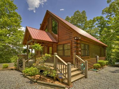Photo for Surround yourself with the beauty & natural forest  in this secluded cabin