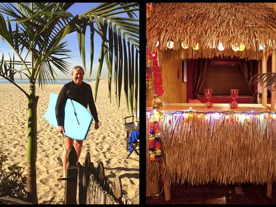 Photo for BEACH TIKI BAR - FREE BIKES, SURFBOARDS, PARKING & WIFI Walk to Shops & Cafes...