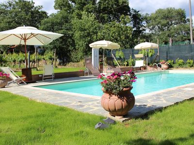 Photo for Tuscany Family villa, private pool and lots of space to enjoy Tuscany