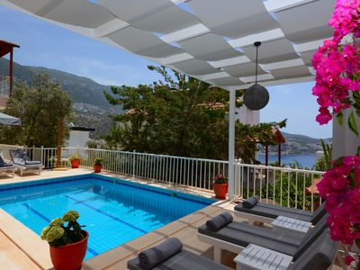 Photo for 3 Bedroom Villa near Kalkan Centre, with Private Pool and Sea Views