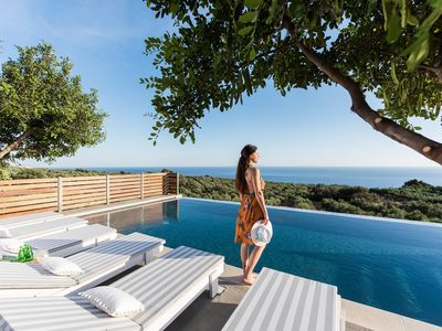 Photo for OLVÍA,  elegant village house with infinity pool and amazing views!