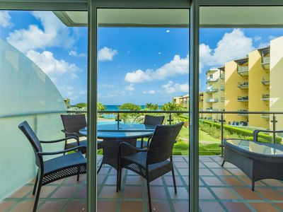 Photo for Feel at home in this perfect 2 bedroom condo with OCEAN VIEW