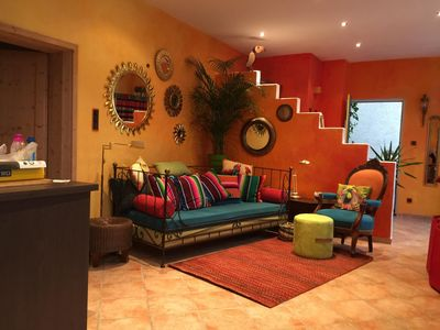 Photo for ANDERS live in Bochum: THE apartment for two, full of color and light