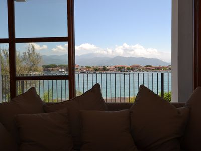 Photo for Beautiful apartment between the Cinque Terre and Versilia, Tuscany - Sea View