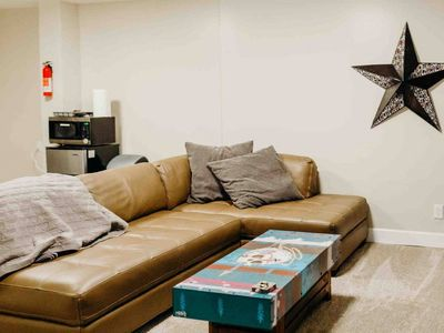 Photo for Street Art Basement Suite and Home Theater