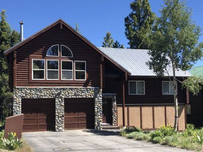 Photo for 3 bedroom, 2 bath Chalet- Walking distance to Tahoe Donner Ski Hill