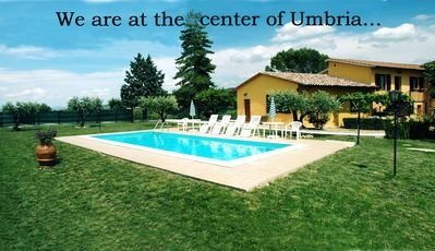 Photo for L'ORTO: apartment within farmhouse just 15 minutes far from Assisi.
