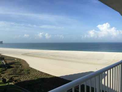 Photo for Spectacular 16th Story Direct View of the Beach, Pool and Gulf of Mexico