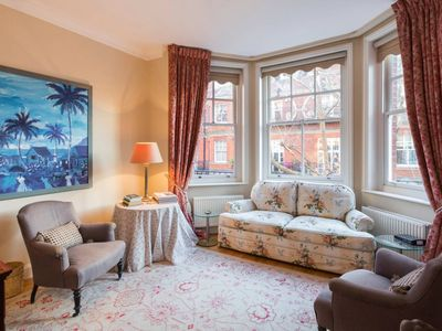 Photo for Charming 1 bedroom flat in iconic Chelsea