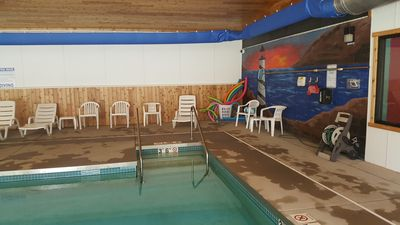 Photo for 2 Bedroom 1 Bath, Indoor Pool, Tennis Court, Game Room, Basketball, Trout river