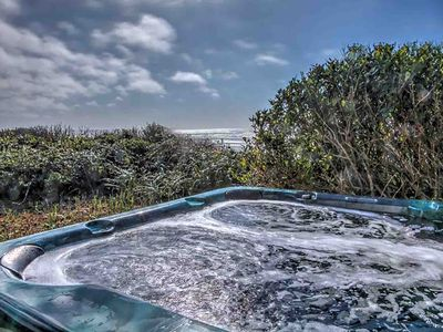 Photo for Ocean Front Home With Hot Tub On Miles Of Sandy Beach!  Free Night!