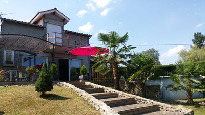 Photo for House for 8 people, its terrace and swimming pool are waiting for you.
