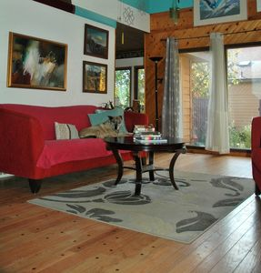 Photo for Private, Artistic, Sunny home on quiet residential St, Dog Friendly- Long Term