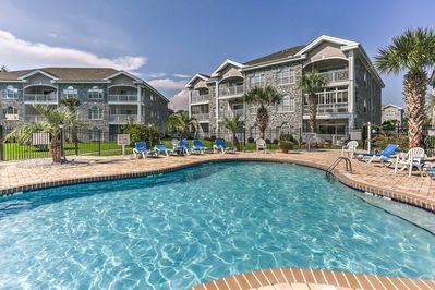 Book a trip to this lavish Myrtle Beach vacation rental condo for 4.