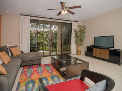 Photo for Gorgeous 1 Bed, 1 Bath Pacifico Condo w/all the ameneties, 5 Pools, Lush Gardens