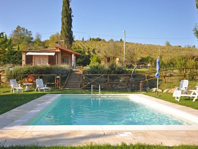 Photo for Villa in Montaccio with 2 bedrooms sleeps 4