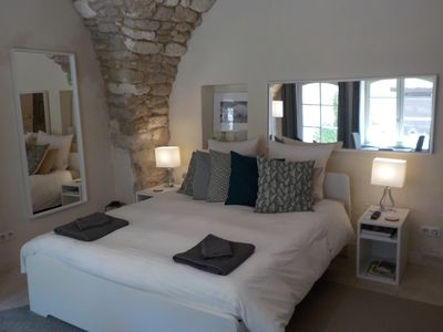 Photo for Charming studio Wifi, Kitchen, Terrace Bonnieux in the Luberon