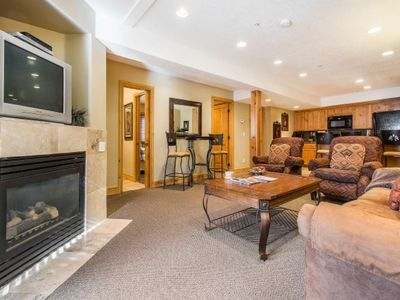 Photo for FREE SKI RENTAL! No Car Needed - Across the Street From Park City Mountain, Walk to Skiing & Shuttle